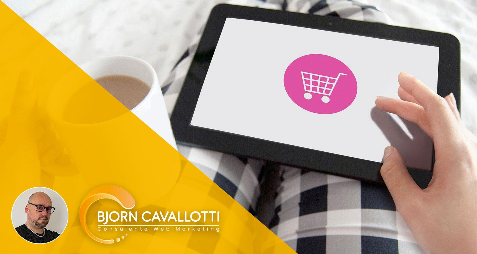 Aprire negozio online